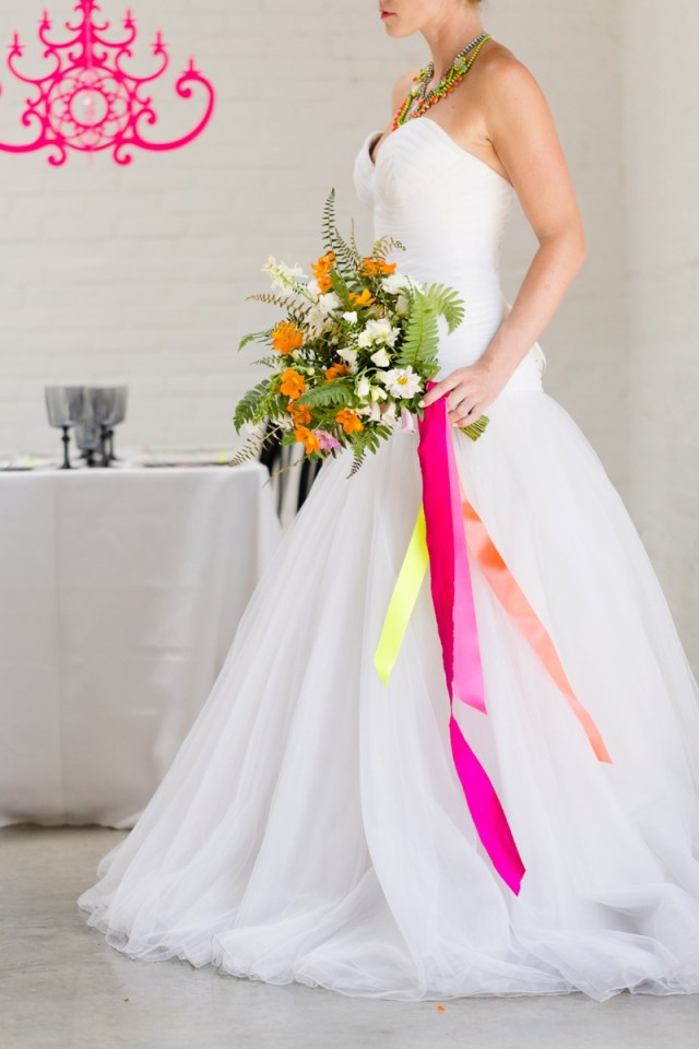 Jessicas Wedding Ideas Chic Modern Neon Wedding Ideas Every Last Detail