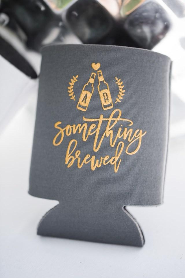 Koozie Ideas Wedding Beer Koozie Wedding Favorsthe Wheeler House Wedding Holland Daze