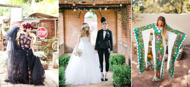 Leabian Wedding Ideas Day Of The Dead Wedding Ideas Style Steals Gay Wedding Guide