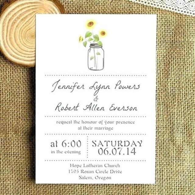 Mason Jar Wedding Invitation Kits 206458 Wedding Invitation Kits With Amazing Walmart Wedding