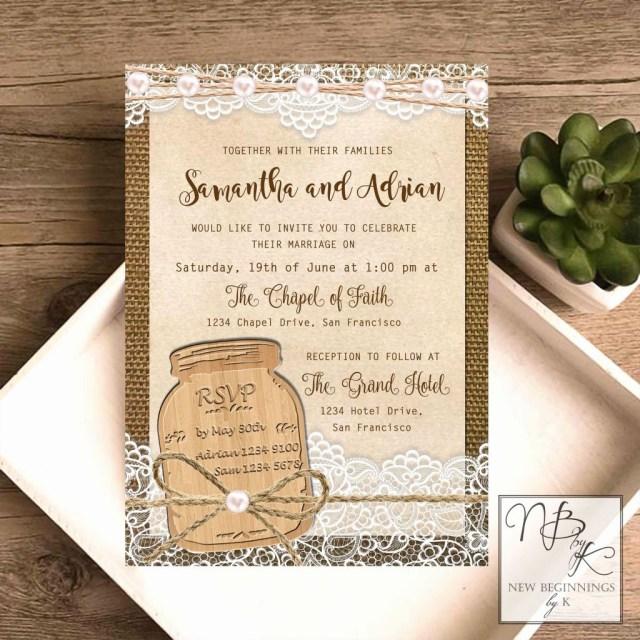Mason Jar Wedding Invitation Kits 39 Le Meilleur De Brides Invitation Kit Photos Laptopsc