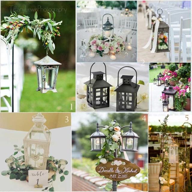 May Wedding Ideas 2017 Wedding Invitations Trends Metal Lanterns As Decor