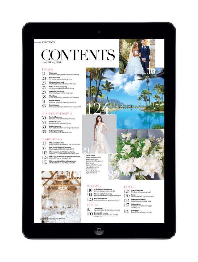 May Wedding Ideas Wedding Ideas May 2018 Digital Edition The Chelsea Magazine
