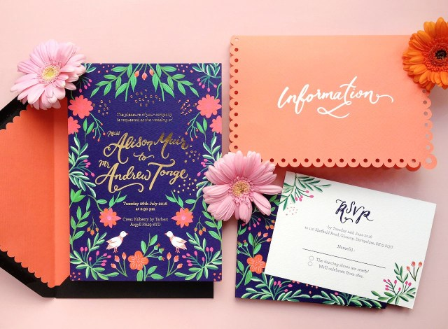 Mexican Wedding Invitations Colorful Mexican Fete Inspired Wedding Invitations Graphics