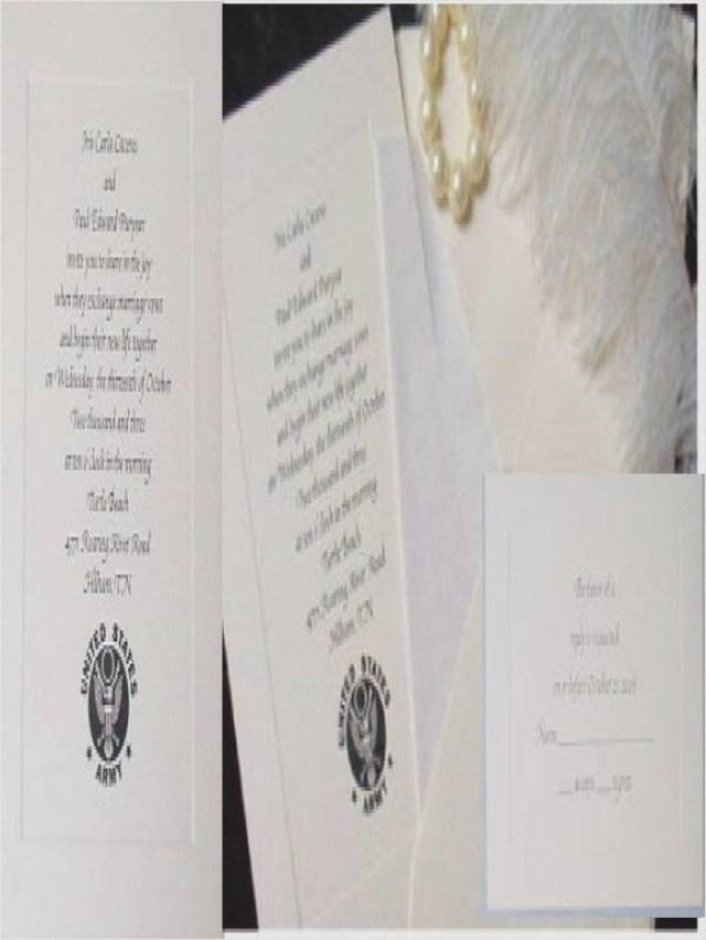 Military Wedding Invitations 206458 Military Wedding Invitations Weddinginvite Us Military