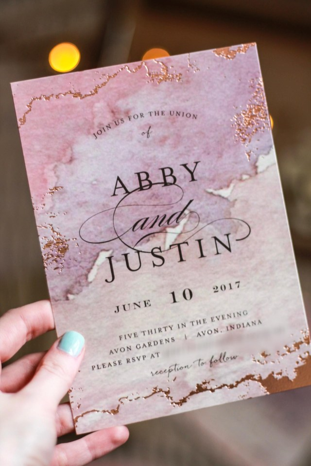 Minted Wedding Invitations Details Our Wedding Invitations Minted Review Ab Saylor