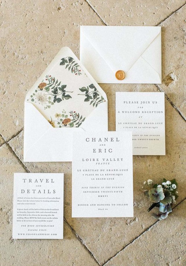Modern Wedding Invitations Lovely Minimalist Invitations For A Modern Wedding Weddingbells