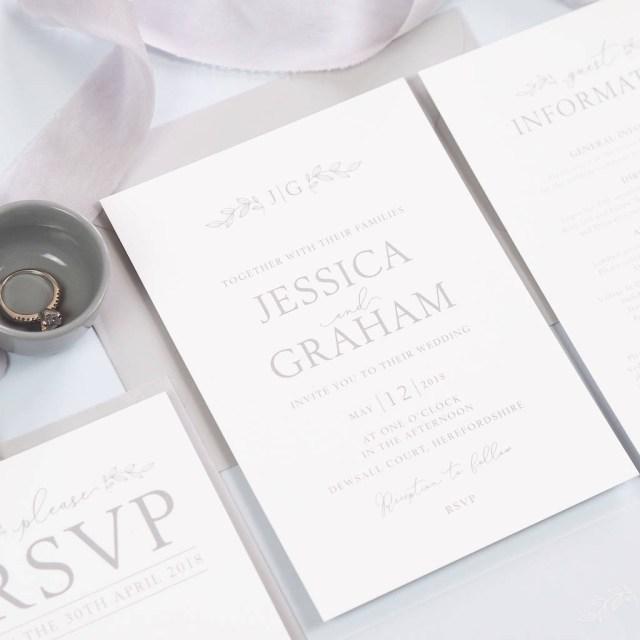 Monogram Wedding Invitations Darcey Monogram Wedding Invitations Project Pretty