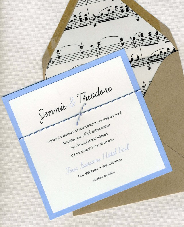 Music Themed Wedding Invitations Music Themed Wedding Accessories Ceremony Reception Decor Elegant