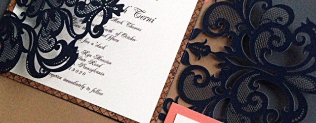 Navy And Coral Wedding Invitations Navy Carol Wedding Invitation Suite Our Home Pinterest