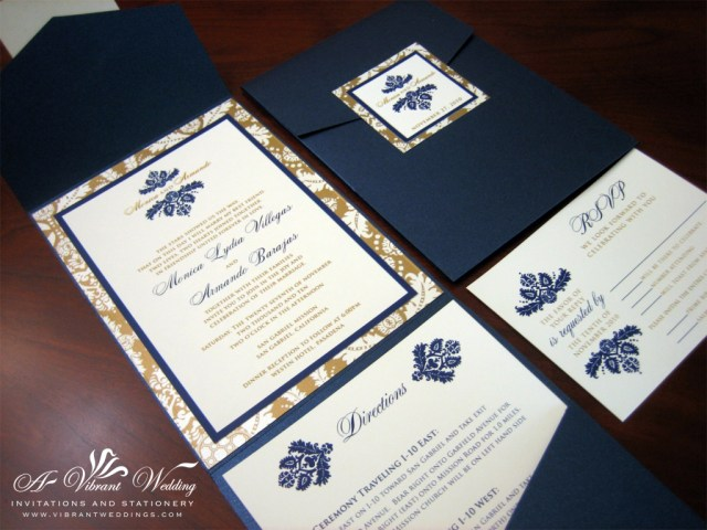 Navy And Gold Wedding Invitations Navy And Gold Wedding Invitations Navy And Gold Wedding Invitations
