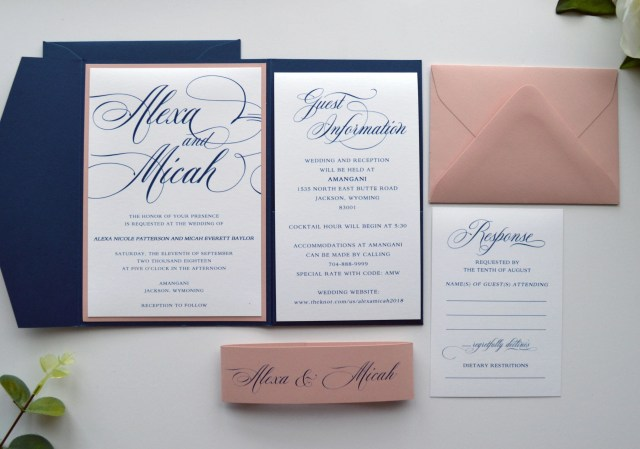 Navy Blue And Gold Wedding Invitations Rose Gold Wedding Invitation Template Free Downloads Navy Wedding
