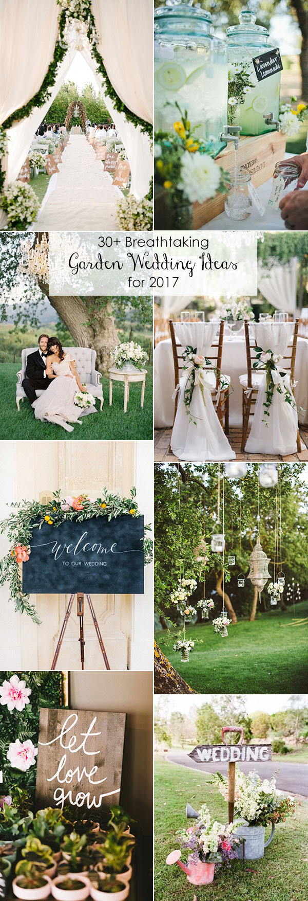 Outdoor Wedding Ideas 30 Totally Breathtaking Garden Wedding Ideas For 2017 Trends Oh