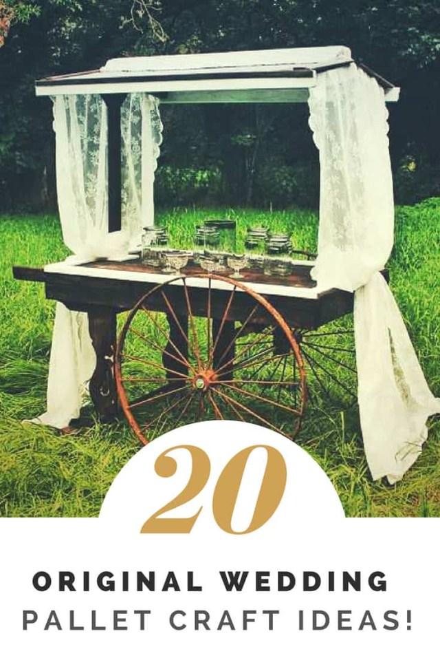 Pallets Wedding Ideas 20 Wedding Pallet Craft Ideas 1001 Pallets