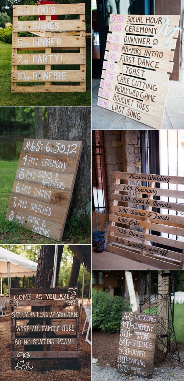 Pallets Wedding Ideas Decorating Rustic Wedding Ideas With Wooden Elements Awesome