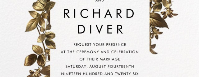 Paperless Wedding Invitations Girardin Invitation Online At Paperless Post Wedding Ceremony