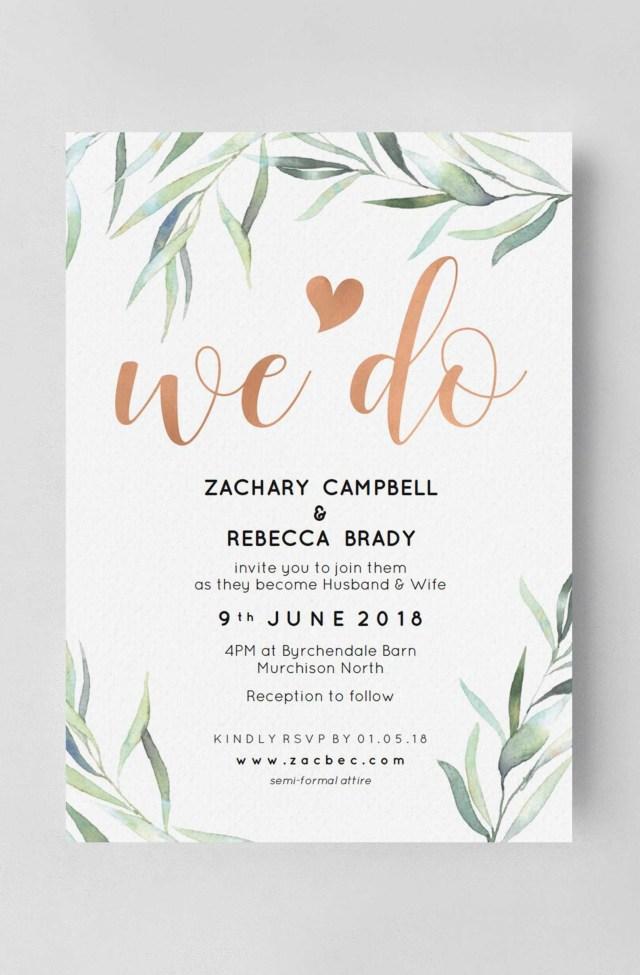Paperless Wedding Invitations Paperless Wedding Invitations Luxury Wedding Invitation Rose Gold