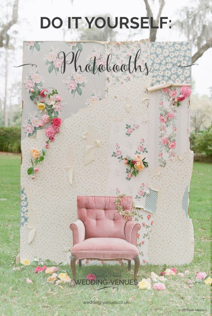 Photobooth Ideas Wedding Diy Photo Booths To Suit Any Wedding Chwv
