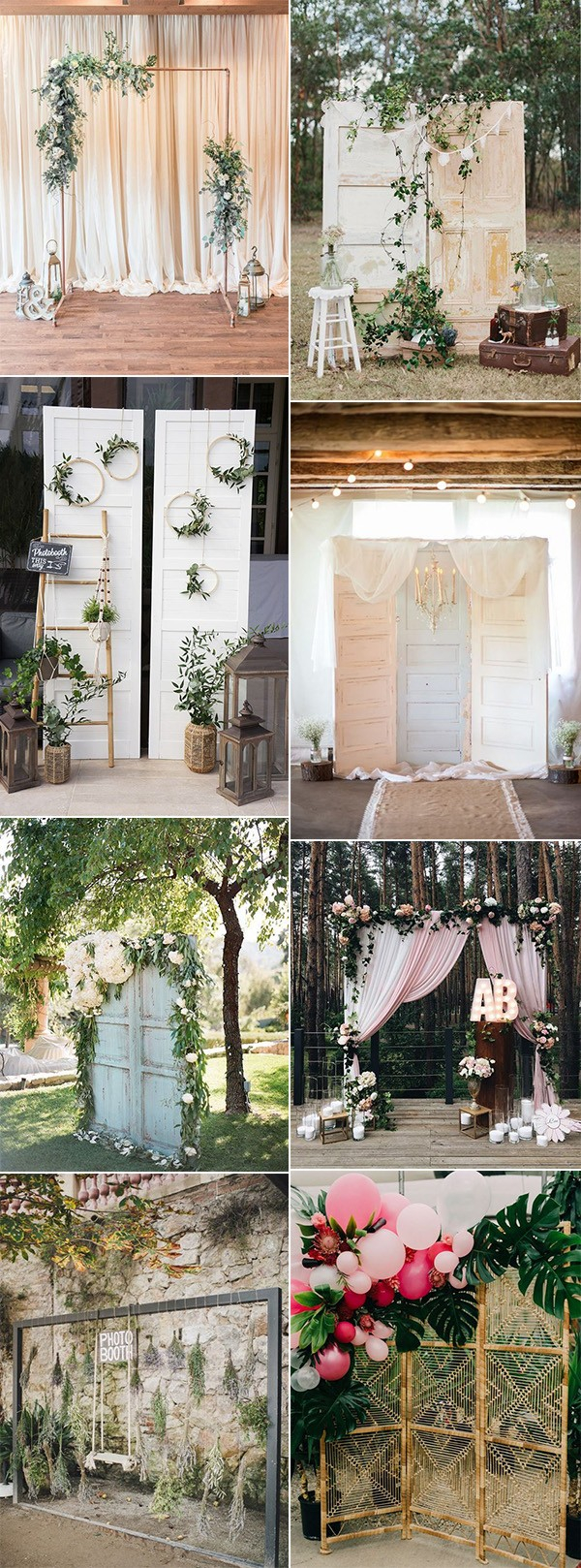 Photobooth Wedding Ideas 16 Amazing Wedding Photo Booth Backdrops For 2019 Trends