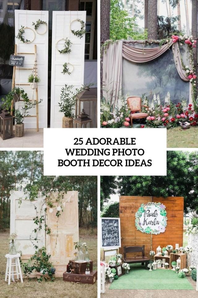 Photobooth Wedding Ideas 25 Adorable Wedding Photo Booth Decor Ideas Weddingomania