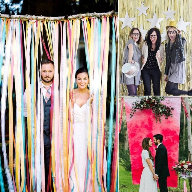 Photobooth Wedding Ideas Diy Wedding Photo Booth Ideas Popsugar Smart Living