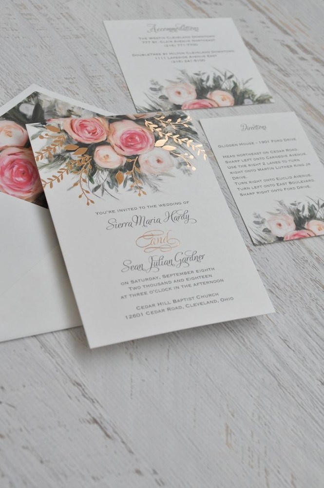 Pinterest Wedding Invitations Stunning Garden