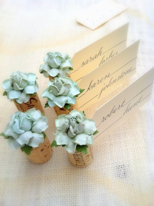 Placecards Wedding Diy Succulent Name Card Holder Wedding Wine Themed Bridal Shower Etsy