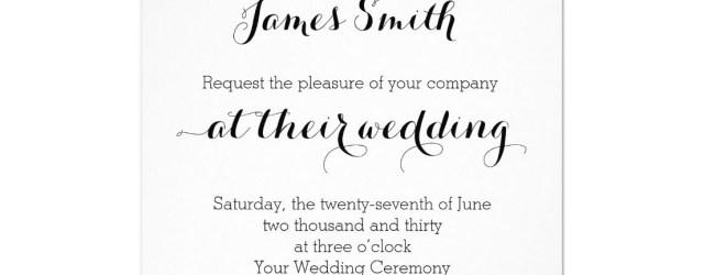 Plain Wedding Invitations Plain Wedding Invitations White Zazzle And Pinterest