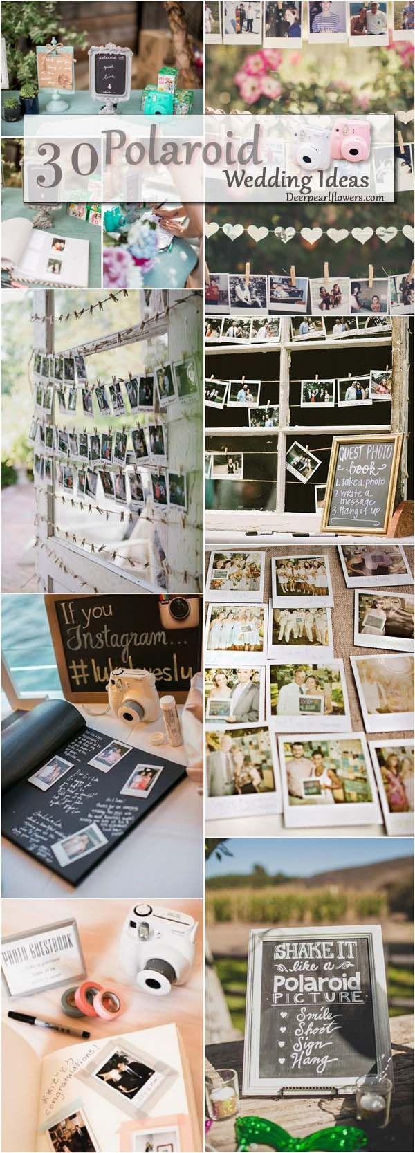 Poloroid Wedding Ideas Unique Wedding Ideas Polaroid Wedding Guestbook Ideas Www