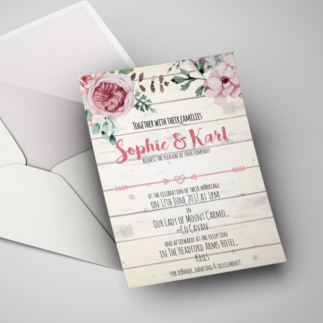 Postcard Wedding Invitations Wedding Invitations Postcard