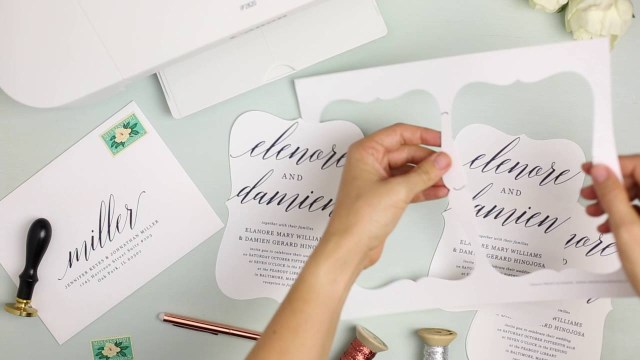 Print Your Own Wedding Invitations How To Print Your Own Wedding Invitations At Home With Everly Card