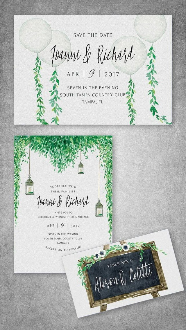 Printable Wedding Invitation Kits Rustic Wedding Invitation Kit In 2018 Wedding Invitations