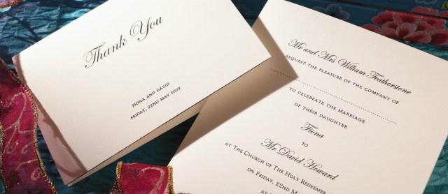 Printed Wedding Invitations Regency Personalised Wedding Invitations The Letter Press
