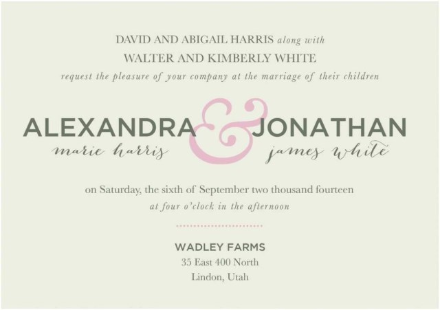 Reception Invitation Wording After Private Wedding Post Wedding Reception Only Invitations Best Of Wedding Ceremony