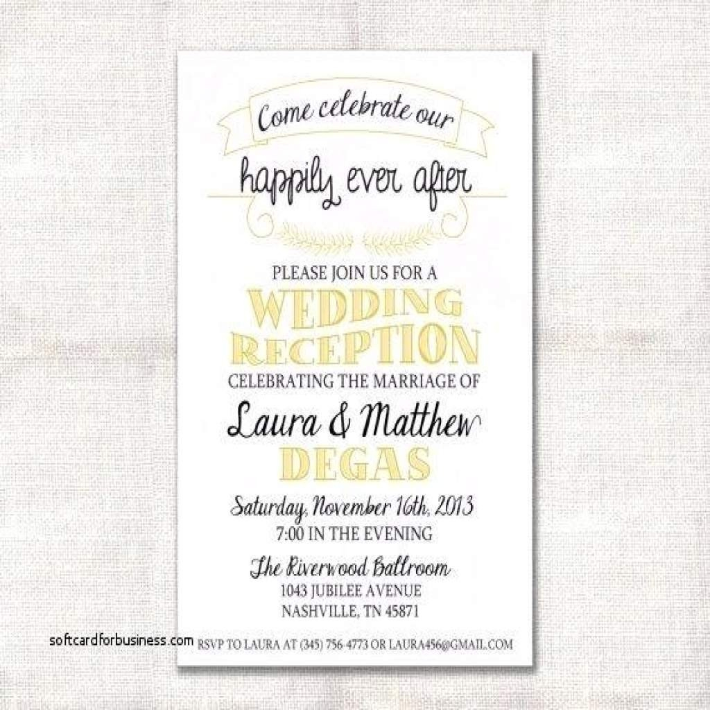 Wedding Reception Invitation Wording.Reception Invitation Wording After Private Wedding Reception