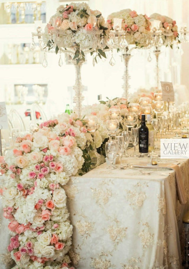 Rose Gold Wedding Decorations Pink And Gold Wedding Theme Elegantweddingca