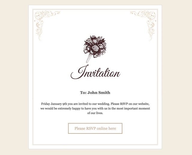 Rsvp Wedding Invitation Rsvp And Wedding Invitation WordPress Plugin Craftedpixels