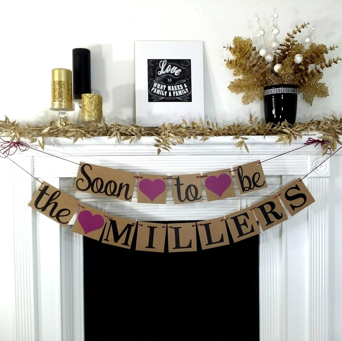 Rustic Engagement Party Ideas Engagement Banner Soon To Be Banner Engagement Party Decor Etsy