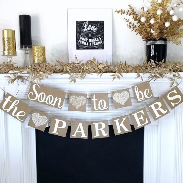 Rustic Engagement Party Ideas Engagement Banner Soon To Be Banner Engagement Party Decor Rustic