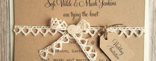 Rustic Vintage Wedding Invitations Rustic Vintage Lace And Button Wedding Invitations Vintage Twee