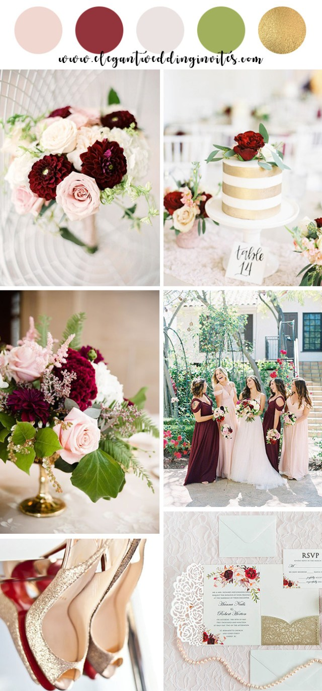 Rustic Wedding Colors 10 Beautiful Spring And Summer Wedding Colors For 2019