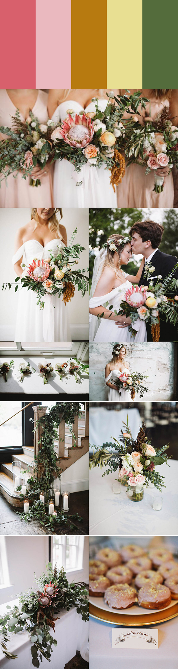 Rustic Wedding Colors 5 Rustic Wedding Color Palette Ideas Junebug Weddings