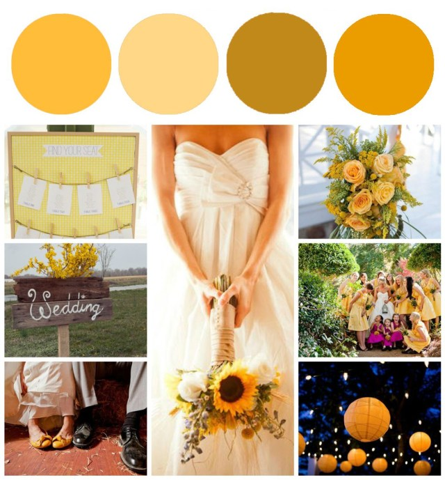 Rustic Wedding Colors Sunflower Wedding Color Inspiration Rustic Wedding Chic