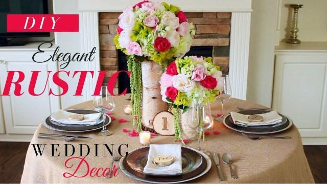 Rustic Wedding Decor Diy Elegant Shab Chic Wedding Decorations Diy Rustic Wedding