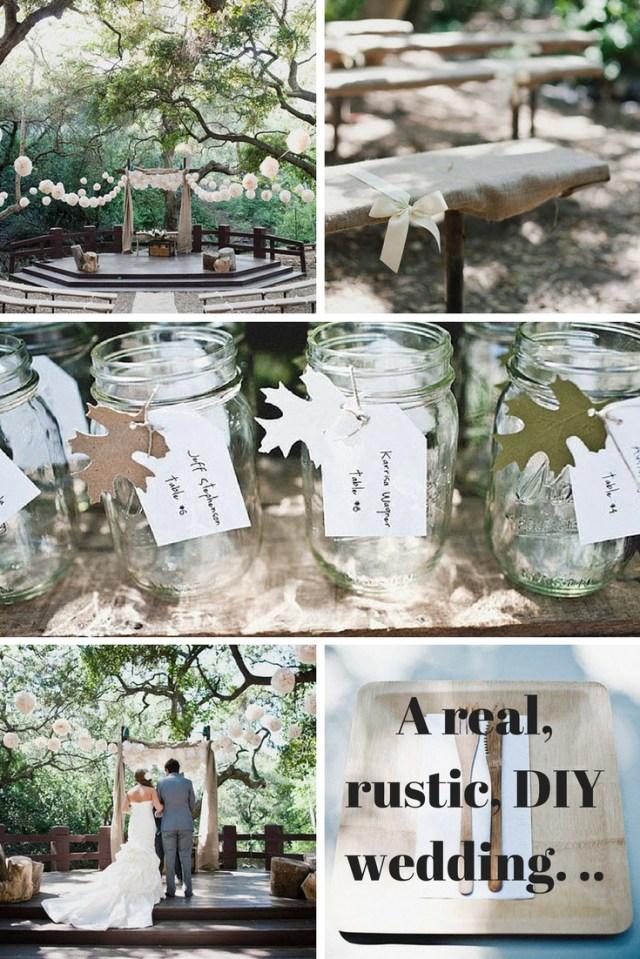 Rustic Wedding Diy 10 Things We Love About This Real Rustic Diy Wedding