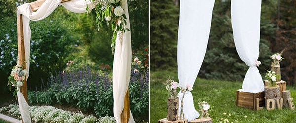 Rustic Wedding Diy 25 Chic And Easy Rustic Wedding Arch Ideas For Diy Brides