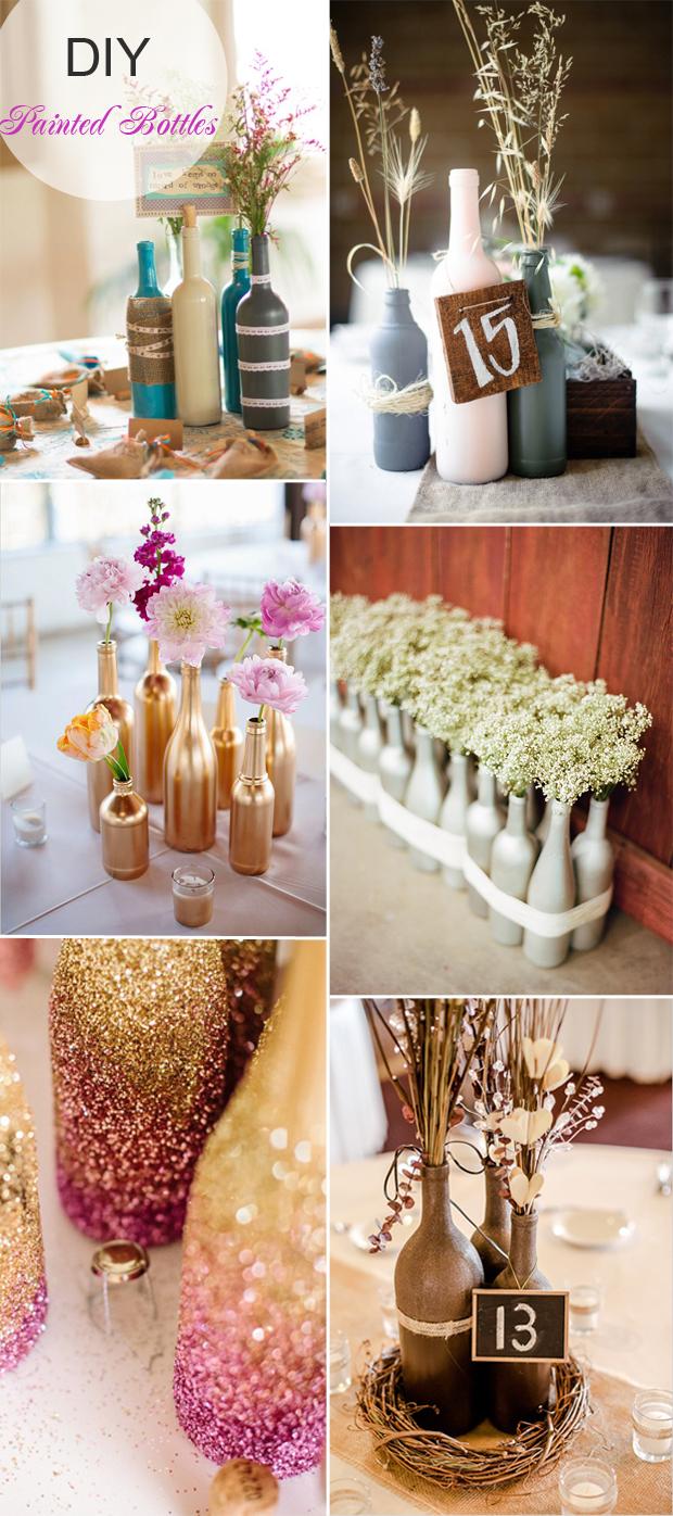 Rustic Wedding Diy 40 Diy Wedding Centerpieces Ideas For Your Reception Tulle