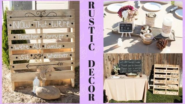 Rustic Wedding Diy Diy Rustic Wedding Decor On A Budget Centerpieces