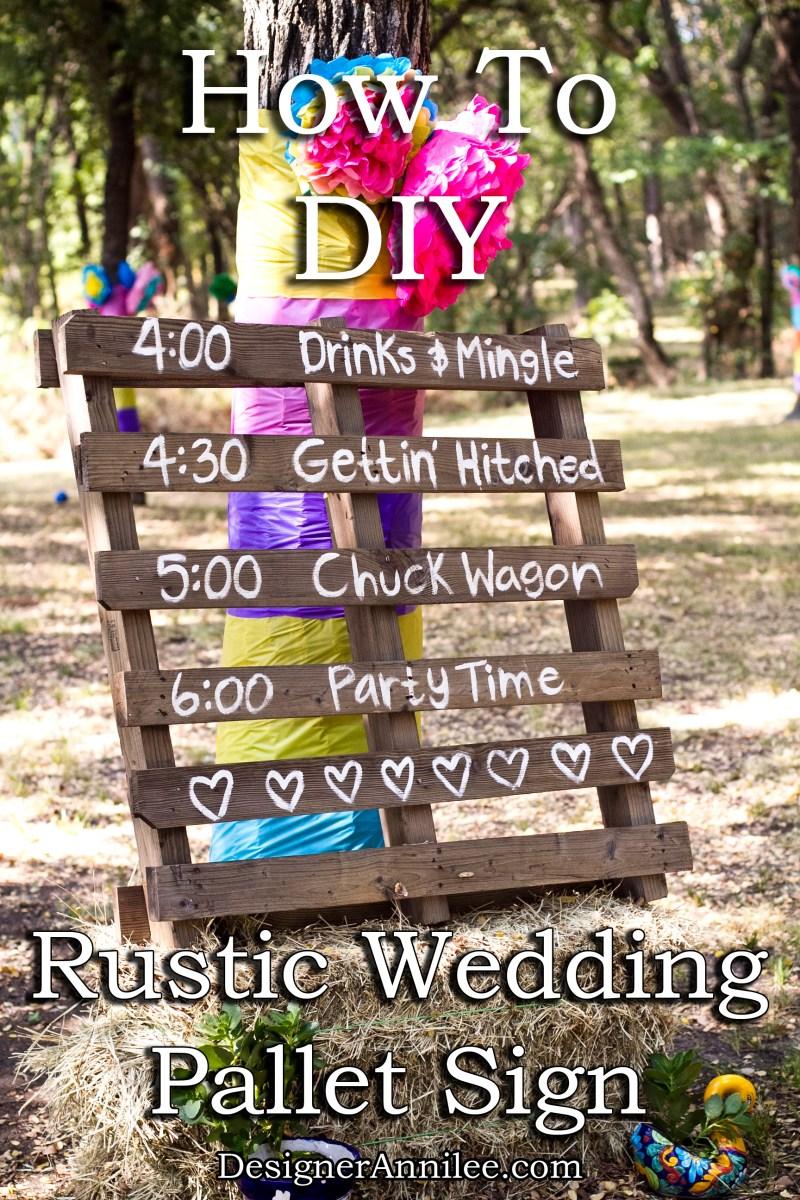 Rustic Wedding Diy How To Diy Rustic Wedding Sign Aw Design Studio