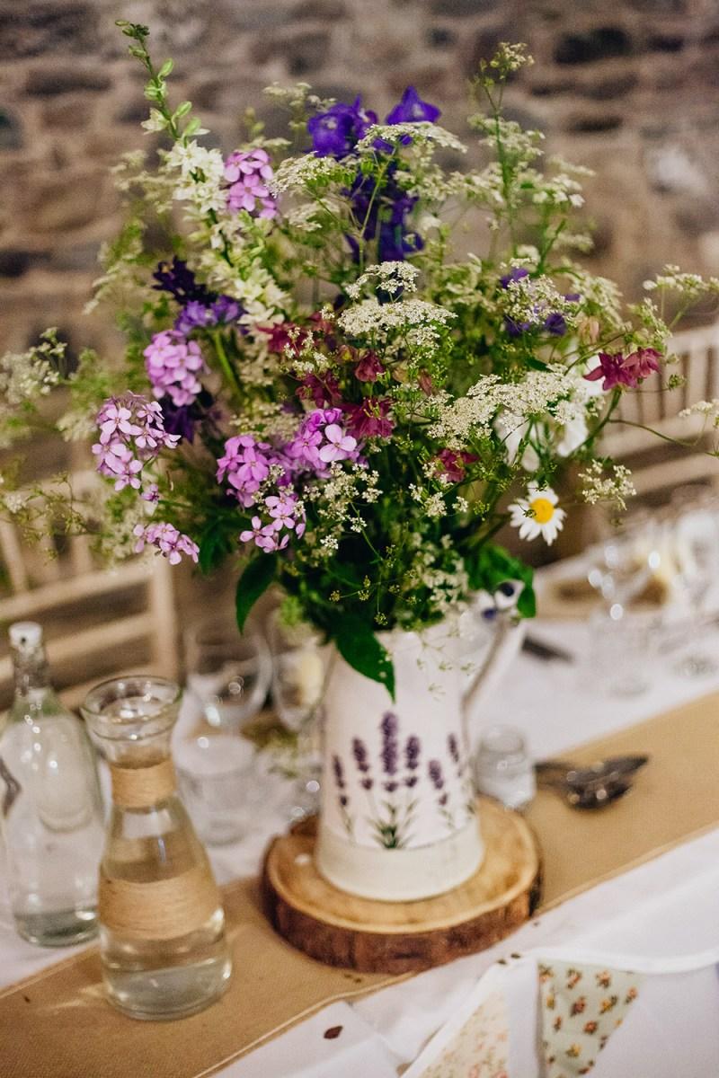 Rustic Wedding Diy Rustic Wedding At New House Farm With Diy Decor Wild Flowers